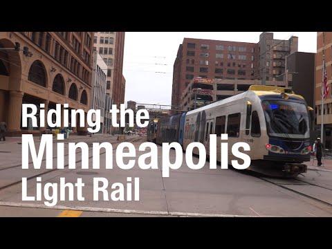 A Trip on the Minneapolis Light Rail