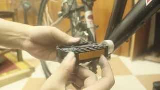 Mẹo nhỏ chữa Pê đan xe đạp bị kẹt