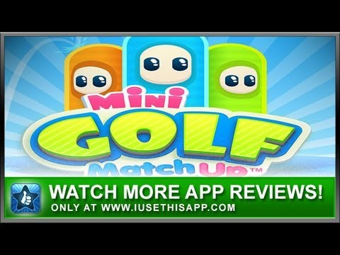 Mini Golf Matchup iPhone App - Best iPhone App - App Review
