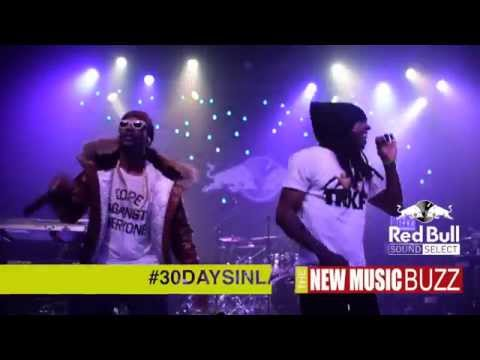 Lil Wayne Joins Juicy J On Stage For