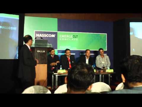 NASSCOM EMERGEOUT- Top CIOs says it is easy to meet us, SMEs are welcome