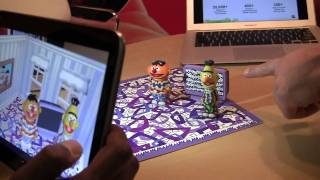 Sesame Street Augmented Reality Dolls Take AR to the Next Level