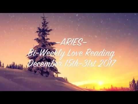 ARIES • Bi-Weekly Love Reading  |  Dec. 15th-31st 2017