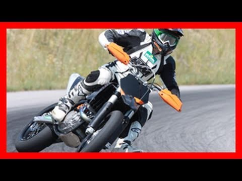 KTM 450 SMR Supermoto Action / Motorrad Test von 1000PS
