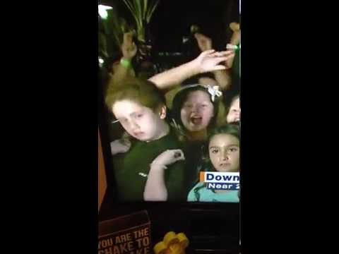 Kid goes full diva on live tv