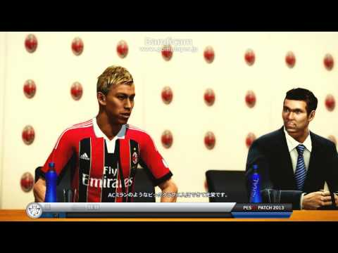 Keisuke Honda, a joining interview in AC Milan !?
