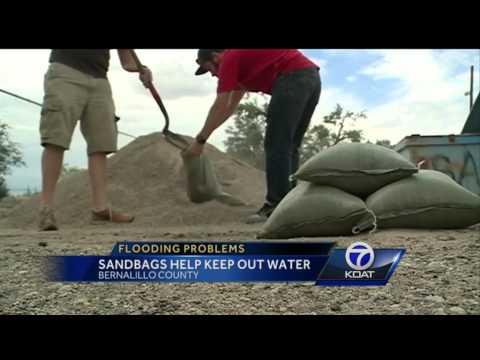 Sandbags Help Protect Homes