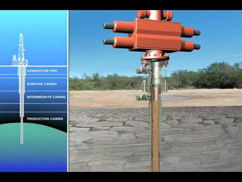 Oil Drilling Animation