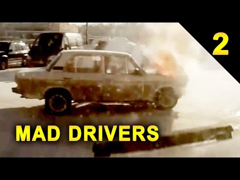 MAD DRIVERS Worldwide #2: 20 Videos of Car Crashes and Close Calls (HD Compilation)