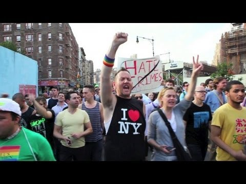 New Yorkers march after gay man's murder