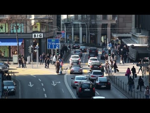 Zürich City TimeLapse Video - springtime