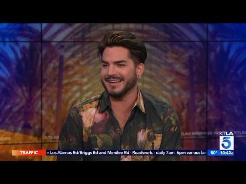 """Adam Lambert on What it's like Working with """"Queen"""""""