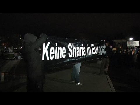 Around 15,000 Turn Out For Dresden's Biggest Ever Pegida Anti-islam Rally video