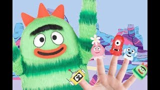 Yo Gabba Gabba Finger Family  | Children Nursery Rhymes and Songs