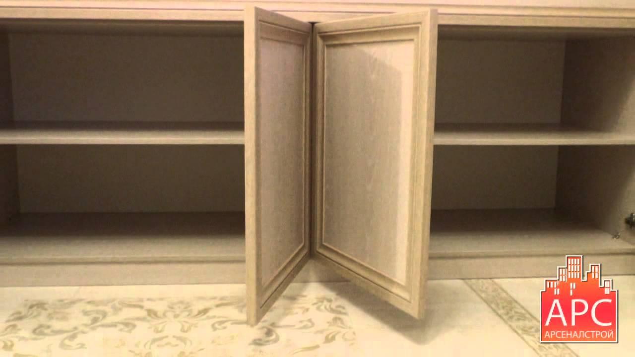 Встроенная мебель на лоджию п 44. - пластиковые или деревянн.