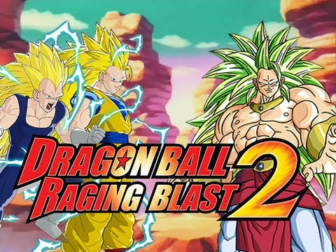 DragonBall Raging Blast 2: SSJ3 Broly VS SSJ3 Goku & SSJ3 Vegeta (Live Commentary)
