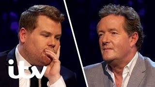 James Corden Discusses the End of His Friendship With Matt Horne   Piers Morgan's Life Stories