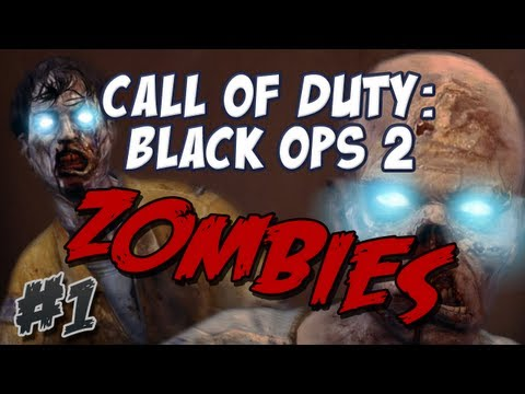 Duncan & Sjin - Call of Duty: Black Ops 2: ZOMBIE MODE - Part 1