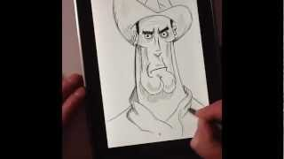 Galaxy Note 10.1 *So close to greatness* speed sketch