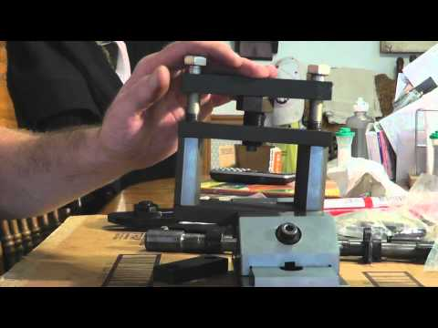AK47 Kitchen build Rear trunnion rivet installation Tothtool.wmv