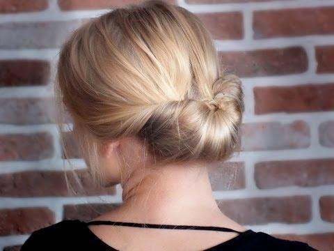 повседневные прически на тяжелые волосы