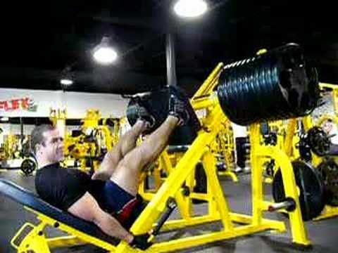 Leg Press 22 plates x 6 Image 1