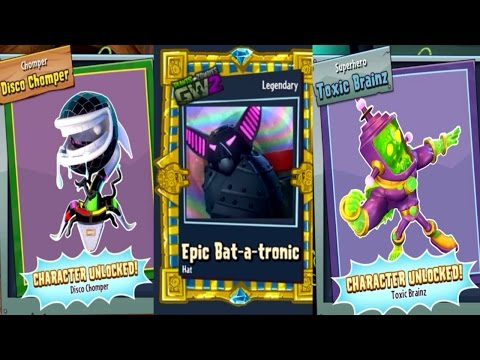 Plants vs. Zombies Garden Warfare 2 - Legendary Characters & Items!