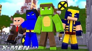 X-MEN #1 - JOINING THE XMEN SCHOOL!  (Custom Mod Adventure)