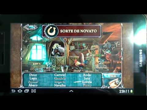 Gameplay Android Lost Souls Samsung Galaxy Tab 7.0 - GT-P6210 - PT-BR