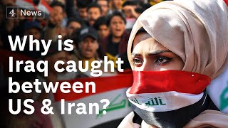 What do Iraqis stuck between Iran and the USA want for their future?