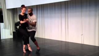 Love Dance Festival 2014 Tony Pirata & Sophie Fox Kizomba Lift technique Partnerwork