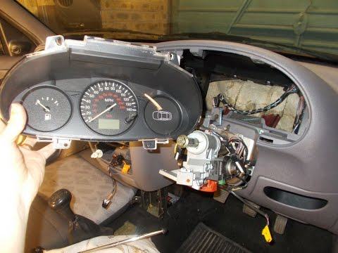 Ford Fiesta Instrument Panel Removal