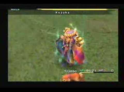 Final Fantasy X - Yojimbo & Kozuka