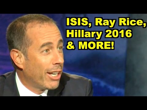 ISIS, Ray Rice, Hillary - Jerry Seinfeld, Bill Maher & MORE! LiberalViewer Sunday Clip Round-Up 73