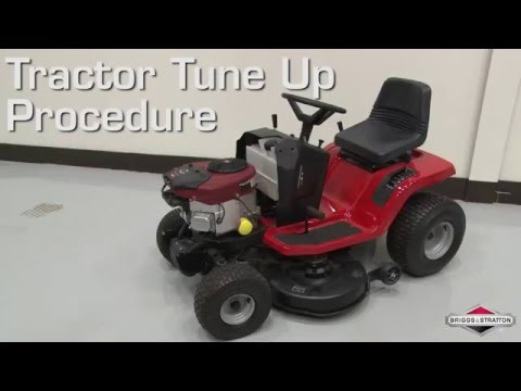 Briggs & Stratton: How to Tune Up Your Lawn or Garden Tractor