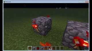 minecraft-como hacer un lanza flechas (V.1)