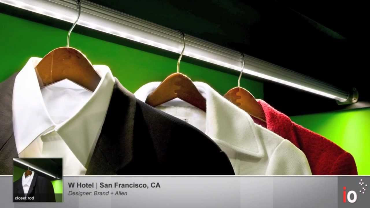 closet rod - LED Applications - YouTube