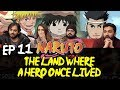 Youtube Thumbnail Naruto - Episode 11 The Land Where A Hero Once Lived - Group Reaction