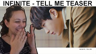 "인피니트(INFINITE) ""Tell Me"" [TEASER REACTION]"