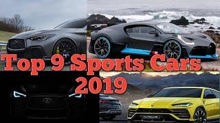 9 Sports Cars Coming 2019 ! Bugatti Divo ! Lamborghini Huracan Performante Spyder