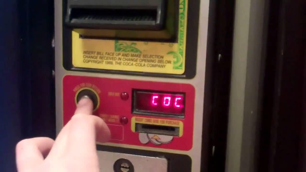 ways to hack a vending machine