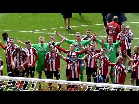 Billy Sharp Leading the Greasy Chip Butty Song