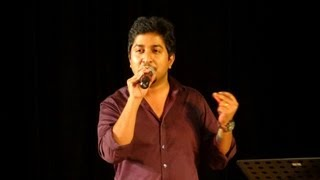Vineeth Sreenivasan Singing Ente Kalbile Song in Dubai.