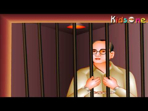 Indian Heroes - Subhas Chandra Bose Life History In Hindi - with Animation