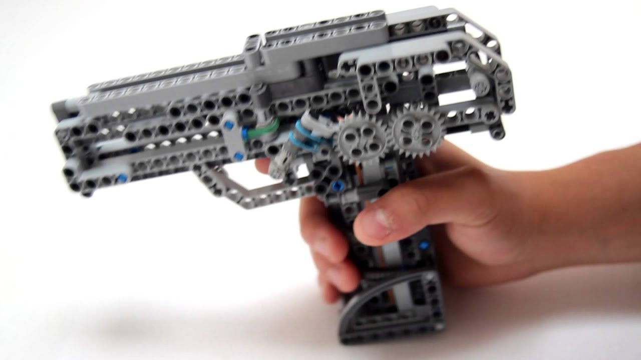 how to make lego guns that work