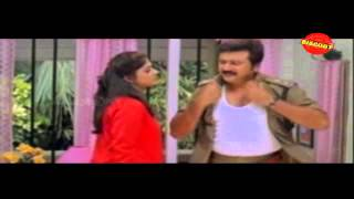 My Boss - Njangal Santhushtaranu Malayalam Movie Comedy Scene jayaram and ambirami