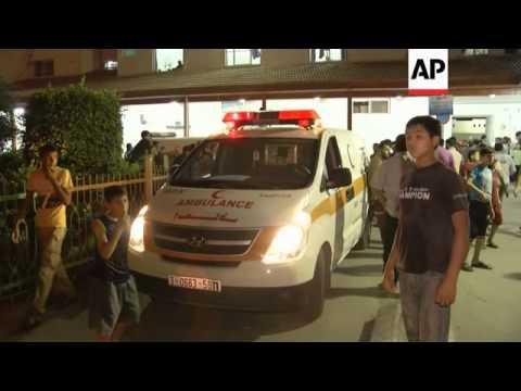 Israel aircraft fires at militants belonging to an al-Qaida-inspired group in Gaza