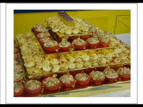 D coration de salles et de buffets de r ception youtube - Decoration de buffet froid ...