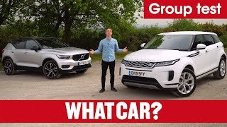 2019 Range Rover Evoque vs Volvo XC40 – what's the best family SUV? | What Car?