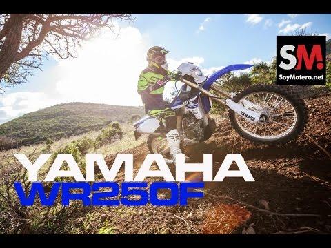 Presentación Yamaha WR250F 2015